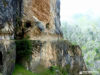 Ruta Cares-Picos de Europa; rio borosa ruta el cañon del sil cañon de la horadada cascada somosier
